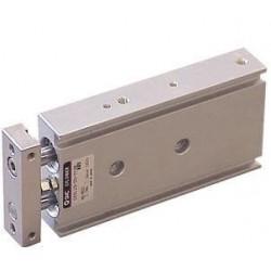 Cilindro de ar com haste dupla SMC® CXSL20-50