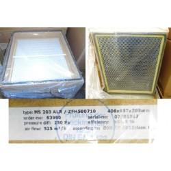 Filter Combi HEPA/Carbon 99.97%, 16x18x8
