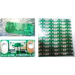 PCB Micro USB AC-6 ( B012)
